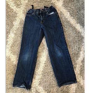 Old Navy Jeans, adjustable waist, boys size 12